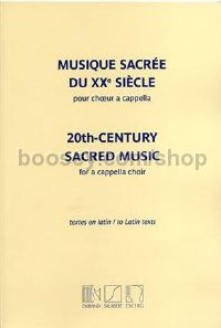 20th-Century Sacred Music