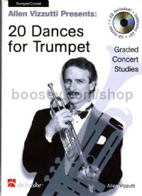 20 Dances for Trumpet (Book & CD)
