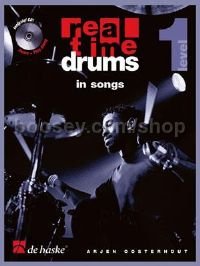 Real Time Drums in Songs (Book & CD - Dutch)