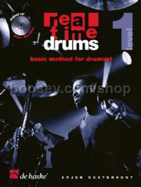 Real Time Drums 1 (Book 7 CD - Dutch)