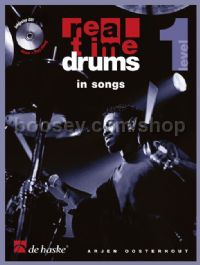 Real Time Drums in Songs (Book & CD - German)