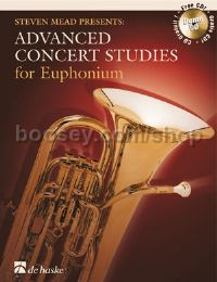 Advanced Concert Studies Euphonium Treble Clef (Book & CD)