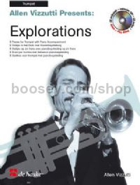 Explorations (Book & CD) - Trumpet