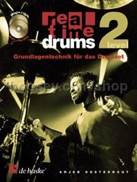 Real Time Drums 2 (Book & 2 CDs  - German)