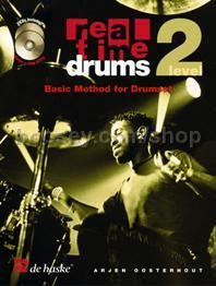 Real Time Drums 2 (Book & 2 CDs  - English)