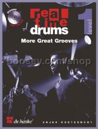 Real Time Drums more great grooves (Book & CD - English)