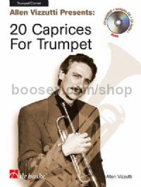 20 Caprices for Trumpet (Book & CD)