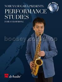 Performance Studies for Saxophone - Saxophone(Book & CD)