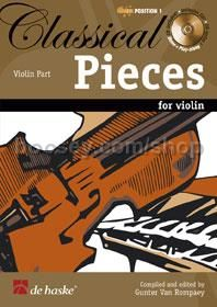 Classical Pieces For Violin (Bk & CD)