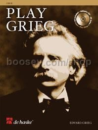Play Grieg - Oboe (Book & CD)