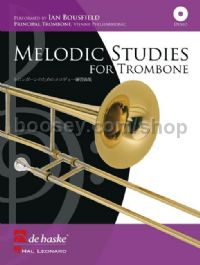 Melodic Studies for Trombone (+ CD)