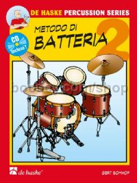 Metodo di batteria Vol. 2 (Book & CD)