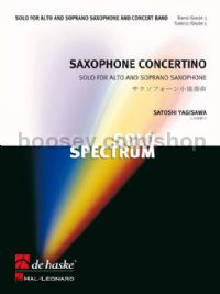 Saxophone Concertino - Concert Band (Score & Parts)