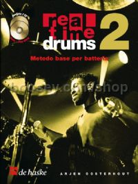 Real Time Drums 2 (Book & 2 CDs  - Italian)