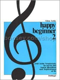 Happy Beginner Band 2 - 2-3 descant recorders and accompanying instruments