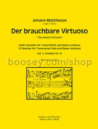 The Useful Virtuoso, Volume 3 (flute and basso continuo)