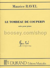 Le tombeau de Couperin - piano solo