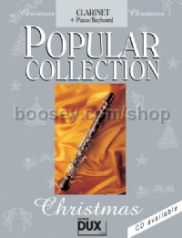 Popular Collection Christmas (Clarinet and piano)