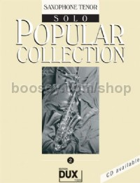 Popular Collection 02 (Tenor Saxophone)