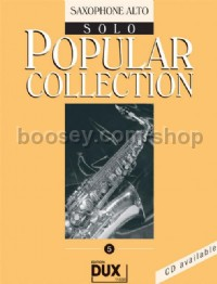 Popular Collection 05 (Alto Saxophone)