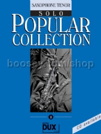 Popular Collection 08 (Tenor Saxophone)