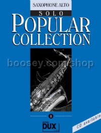 Popular Collection 08 (Alto Saxophone)