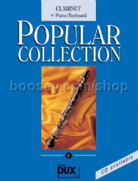 Popular Collection 08 (Clarinet and Piano)