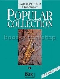 Popular Collection 09 (Tenor Saxophone and Piano)