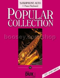 Popular Collection 10 (Alto Saxophone and Piano)
