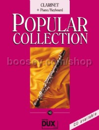 Popular Collection 10 (Clarinet and Piano)