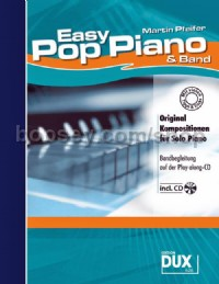 Easy Pop Piano & Band (Piano) (Book & CD)
