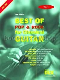 Best Of Pop & Rock 01 for Classical Guitar (Guitar)