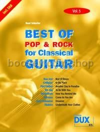 Best Of Pop & Rock 05 for Classical Guitar (Guitar)