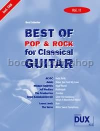 Best Of Pop & Rock 11 for Classical Guitar (Guitar)