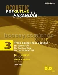 Songs(3) From Scotland (Langer) (4 Guitars)