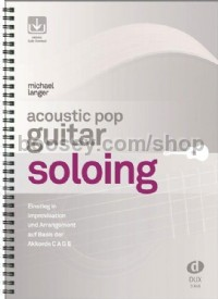 Acoustic Pop Guitar Soloing (Book & Online Audio)