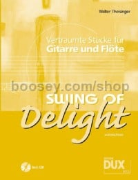 Swing Of Delight (Flute and Guitar) (Book & CD)