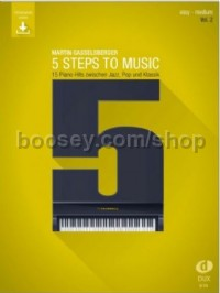 5 Steps to Music 2 Vol. 2 (Piano)