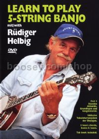 Learn To Play 5 String Banjo (England/German) DVD