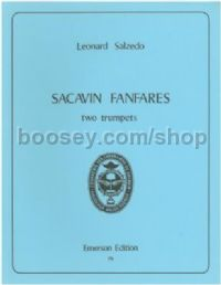 Sacavin Fanfares  for 2 trumpets