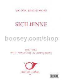 Sicilienne for horn & piano
