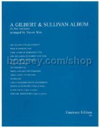 A Gilbert and Sullivan Album for 1-3 flutes & piano