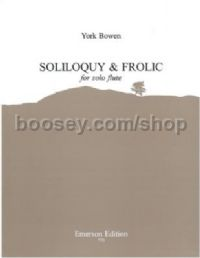 Soliloquy and Frolic for flute