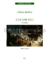 Couvre Feu for oboe & piano