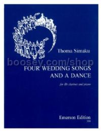Four Wedding Songs and a Dance for clarinet & piano