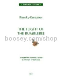 Flight of the Bumblebee for bassoon & piano