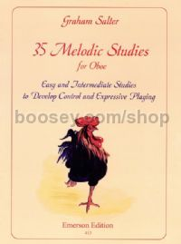 35 Melodic Studies for Oboe
