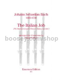 The Italian Job for 4 bassoons