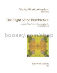 The Flight of the Bumblebee for 2 oboes, cor anglais