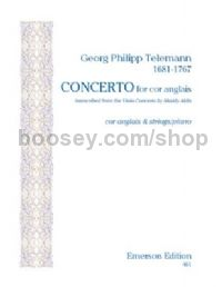 Concerto for Cor Anglais for cor anglais & piano